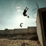 Parkour at a Cemetery - Gaza Strip 2013 - (See AsphaltNYC.com for videoclip)