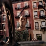 Desmond Blackman Rhodes and his bike - NYC 2013
