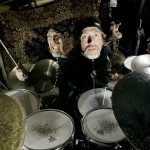 Drummer Ulf Scott has many faces - Denmark 2009